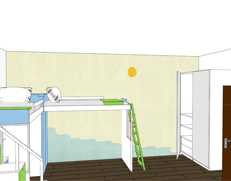 simulazione grafica progettazione e arredamento di interni
